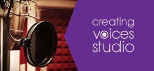 creating voices studio booth
